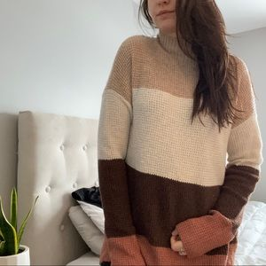 NWT SO Mock Neck Pullover Sweater